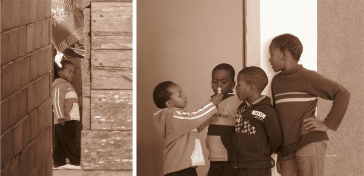Fotografie African Boys